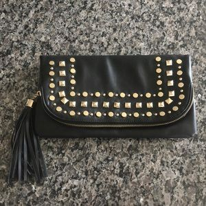 NWOT fold over clutch